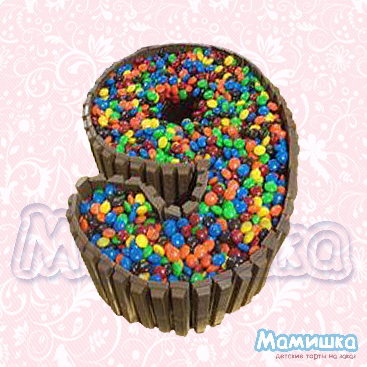 торт с киткатом и ммдемс рецепт фото с печеньем