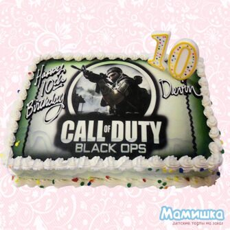 Торт Call of Duty Black ops(M0270)